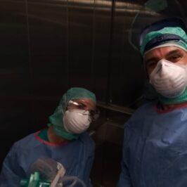 Un giovane Anestesista in trincea