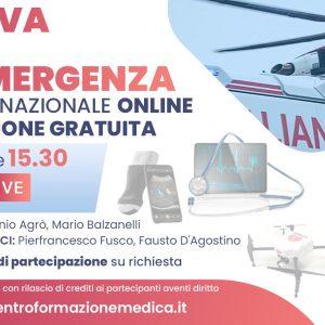 CONGRESSO NAZIONALE ONLINE La Nuova Era dell'Emergenza Esperti di emergenza-urgenza al meeting nazionale